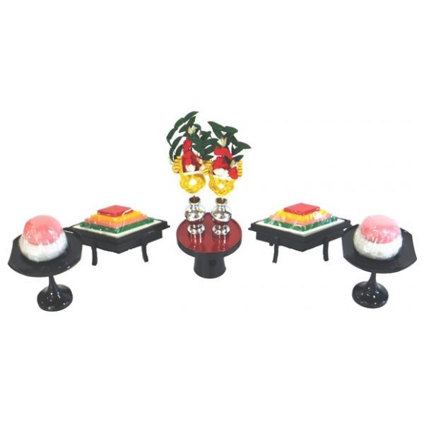 ひな人形 ひな道具 単品 部品 売り 前飾道具 三品道具 三品 大型献上 菱高三宝 188080