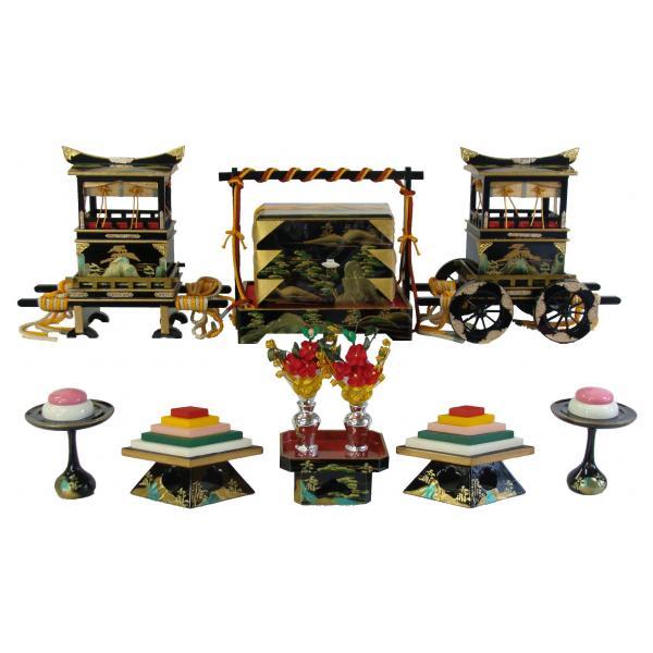 ひな人形 ひな道具 単品 部品 売り 前飾道具 六品道具 山水 111552