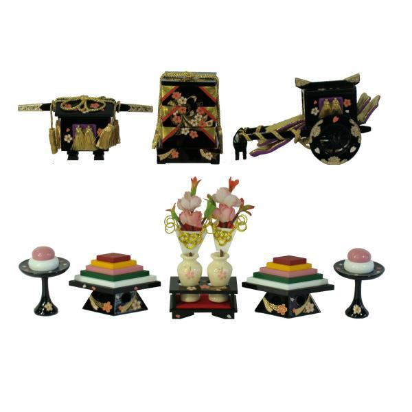 ひな人形 ひな道具 単品 部品 売り 前飾道具 六品道具 桜衣 111675