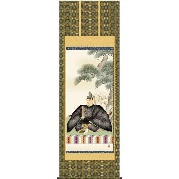 掛軸 三幸 天神第2集 天神様 尺八 T2C4-056 小野 洋舟 154791185