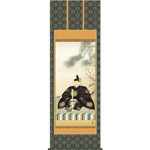 掛軸 三幸 天神第3集 天神様 尺八 T3C4-061 長江 桂舟 154791196
