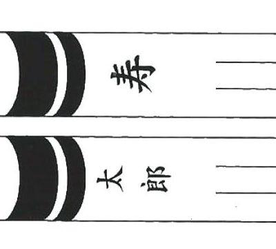 鯉のぼり 山本鯉 家紋名前入れ 8m以上 パターン6 黒 異なる名前 両面1ヶずつ 139761919