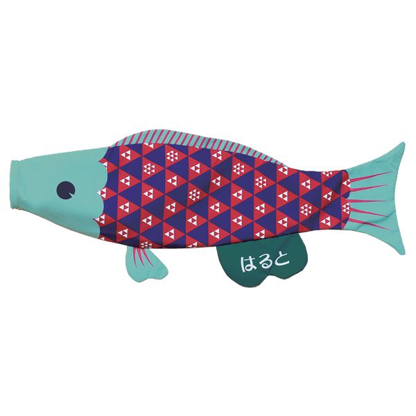 室内鯉のぼり PUCA えらべるたのしさ プーカ 正義感あるしっかり者 トンちゃん ペールブルー L 600834 146929088