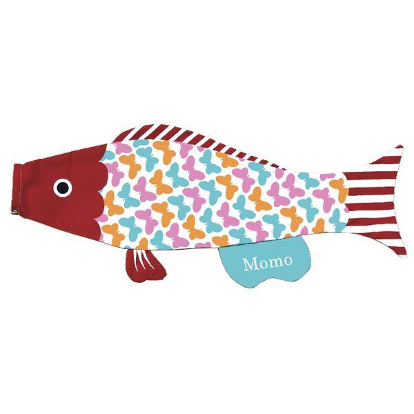 室内鯉のぼり PUCA えらべるたのしさ プーカ 夢見るロマンチスト テフちゃん レッド L 600846 146929100
