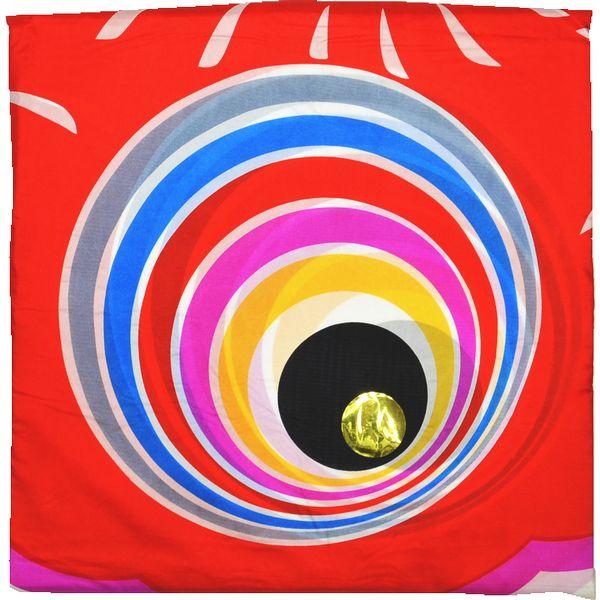 鯉のぼり 単品 バラ 在庫処分 アウトレット 特価 ゴールド赤鯉 9m 145311148