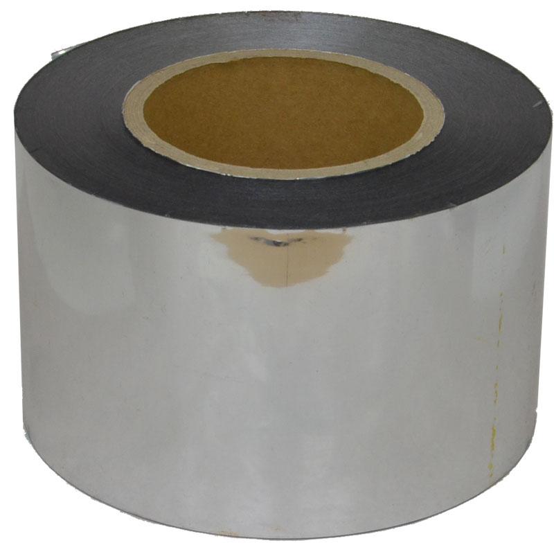七夕 メッキテープ 90mm × 200m 銀 885743