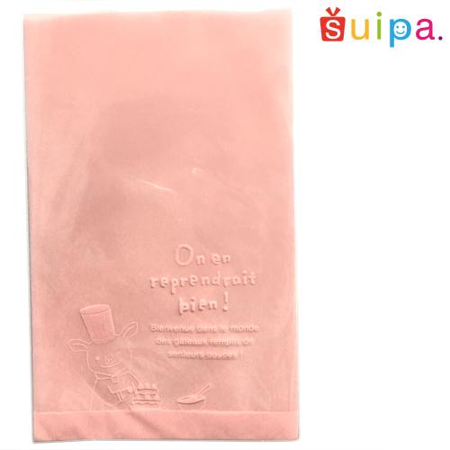 【送料無料】OPH溶断袋コショネ(ピンク)120×190mm 1,000枚【ラッピング 袋】【簡単ギフト】【ブタさんのかわいい袋】