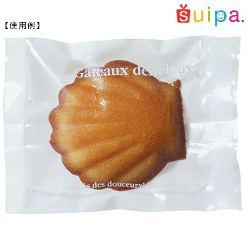 【日本製】バリアOP 合掌袋 ガトーホワイト 85×115(ミリ) 2,000枚セット 【包装 ラッピング 袋】【ケーキ cake クッキー cookie お菓子】