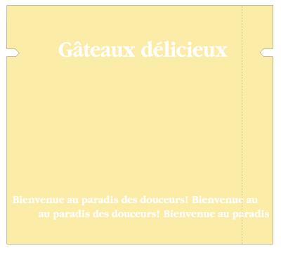 【送料無料】【日本製】バリアOP 合掌袋 ガトークリーム 90×100(ミリ)2,000枚【包装 ラッピング 袋】【ケーキ cake クッキー cookie お菓子】