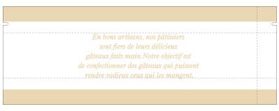 【送料無料】【焼き菓子袋】バリアNY GZ袋 ナチュラルフレンチ 65×35×180(ミリ)2,000枚