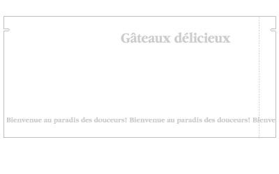 【送料無料】【日本製】バリアNY 合掌袋 ガトーホワイト 80×180(ミリ) 2,000枚 【包装 ラッピング 袋】【ケーキ cake クッキー cookie お菓子】