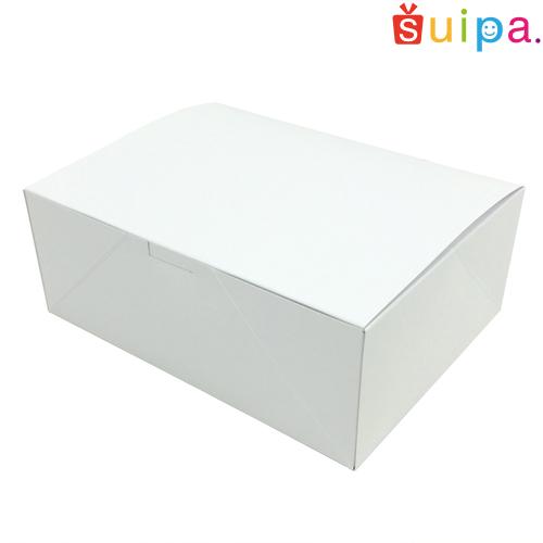 ■【日本製】ケーキ箱 洋生サービス箱(内寸240×180×90H) 300個【ケーキ プリン 箱 持ち運び ラッピング】