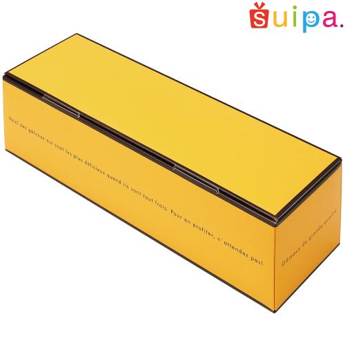 【送料無料】【ギフト菓子箱】ドゥミセック ロング イエロー(内寸335×95×85H) 100個