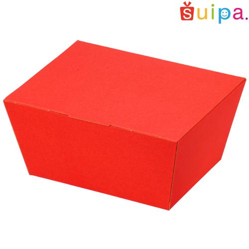 ■【送料無料】うす絹柄 BOX ルージュ【内寸165×130(底面135×100)×76H(mm)】 100個