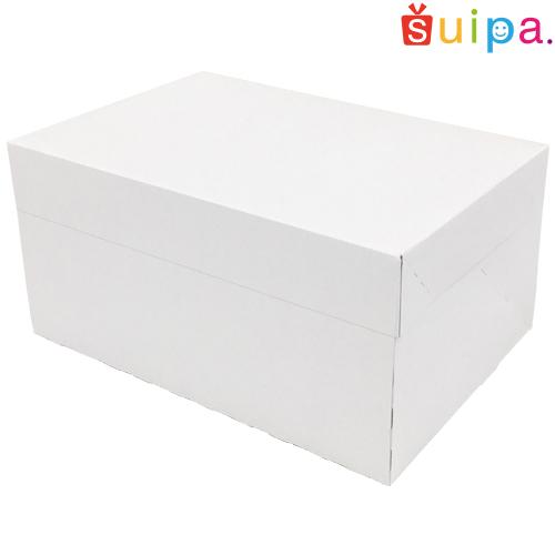 ■【送料無料】【日本製】ケーキ箱 新PAOケーキボックス ホワイト(内寸210×150×105H) 200個【ケーキ プリン 箱 持ち運び ラッピング】