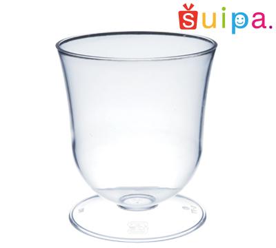 【送料無料】【ワイン グラス風 パフェ プラスチック】 【日本製】PS 66-150 ダイアナカップ 300個 【高級感のある脚付きカップ】