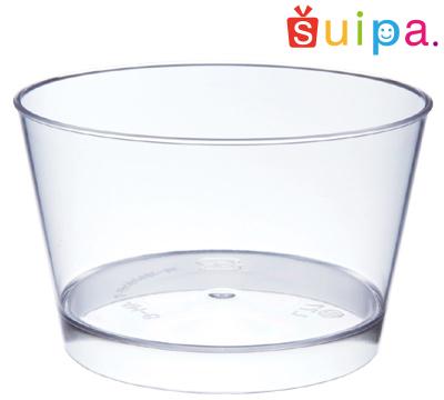 【送料無料】【日本製】PS 76-130 スタンダードカップ 500個 【デザートカップ プリンカップ プラスチック容器 耐熱容器】