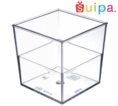 ■【送料無料】【耐熱】ST キューブ 600個【日本製】 【デザートカップ プリンカップ プラスチック容器 耐熱容器】