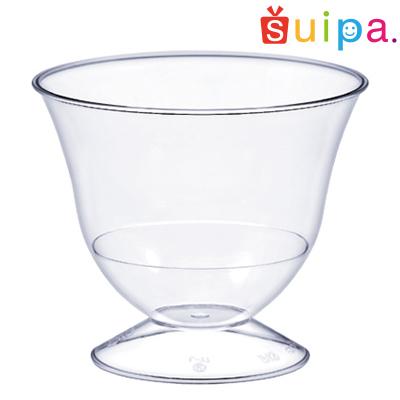 【送料無料】【パフェ グラス風 プラスチック】【日本製】PS 83-165 ピルスナーUS 500個【高級感のあるパフェカップ】【かき氷・プリンアラモードにも♪】