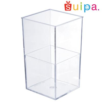 【送料無料】【日本製】PS スマートアングル 400個【デザートカップ カップ寿司 四角いカップ】