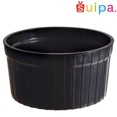 【送料無料】【耐熱】PP71-100 デザートカップ(マーブルカップ) 黒 500個【日本製】 【デザートカップ プリンカップ プリン型 プラスチック容器 カップ】