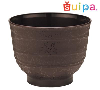 【送料無料】【耐熱】PP80-180 ひねり茶 1,000個【日本製】【焼き物風プラスチック和カップ】