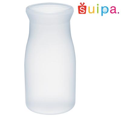 【送料無料】【耐熱】PPブロー 44-130 ミルクボトル 耐熱温度100~120℃ 容量130cc 600個 【日本製】【牛乳瓶 デザートカップ プリンカップ 使い捨てカップ プリン容器 耐熱容器 プラスチック容器】