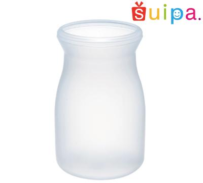 【送料無料】【耐熱】PP ブロー 44-100 ミルクボトル 耐熱温度100~120℃ 容量100cc 750個 【日本製】【牛乳瓶 デザートカップ プリンカップ 使い捨てカップ プリン容器 耐熱容器 プラスチック容器】