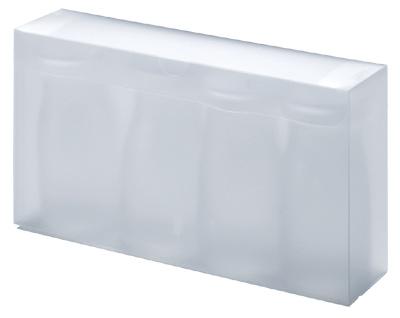 ■【送料無料】PPボックス 牛乳瓶プリン4本 200箱セット ※カップ別売り