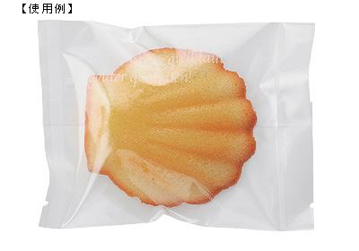 【送料無料】【日本製】バリアNY 合掌袋 スクエア(W) 85×115(ミリ) 2,000枚セット 【包装 ラッピング 袋】【ケーキ cake クッキー cookie お菓子】