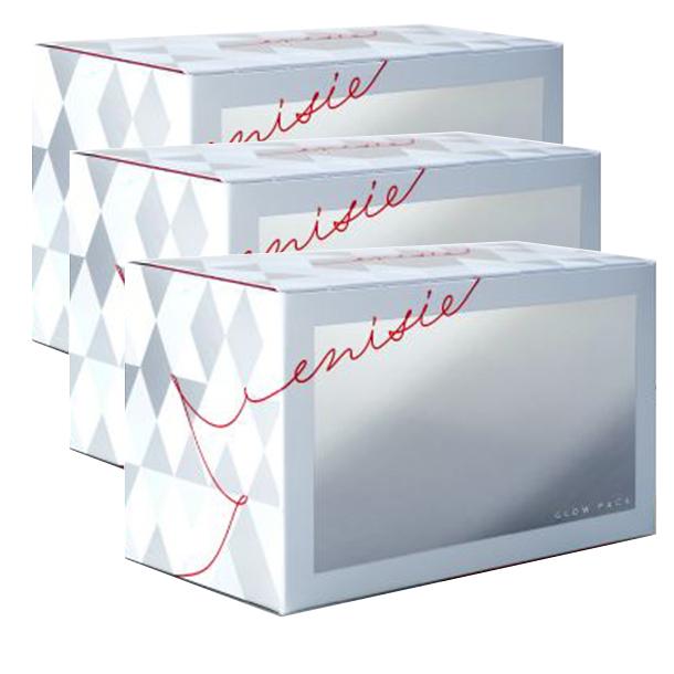 エニシー グローパック 3箱 30回分 炭酸ガスパック フェイスパック 送料無料 2月入荷商品