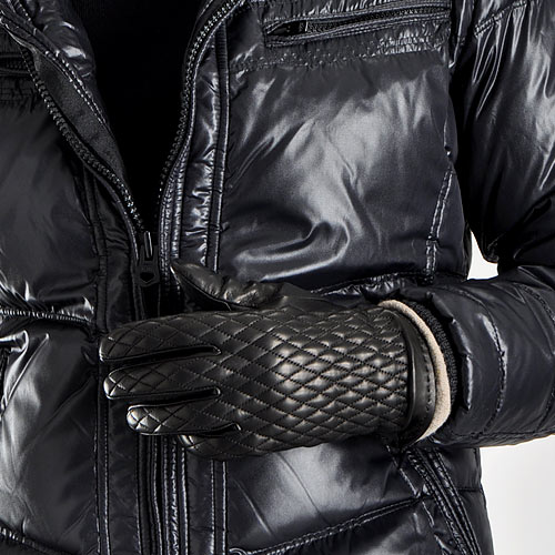 Suit Style MARUTOMI   Rakuten Global Market: Made in Italy leather ... : quilted leather gloves mens - Adamdwight.com