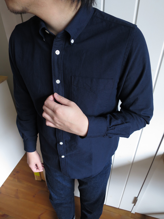 ENDS and MEANS B.D shirts エンズアンドミーンズ ボタンダウンシャツ