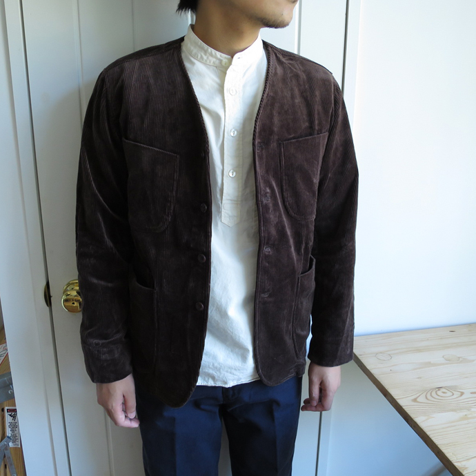 【40%OFF】ENDS and MEANS Aldous Jacket / Cord エンズアンドミーンズ オルダス ジャケット / コーデュロイ ※返品 交換不可