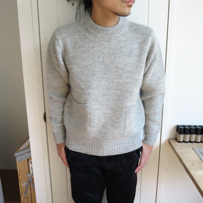 ENDS and MEANS Grandpa Knit 17AW エンズアンドミーンズ グランパ ニット