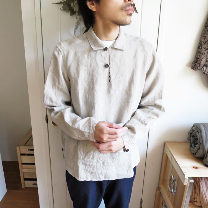 ENDS and MEANS Yacht Shirts / Linen エンズアンドミーンズ ヨットシャツ / リネン