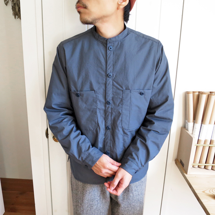 ENDS and MEANS Puff Shirts Jacket エンズアンドミーンズ パフ シャツ ジャケット