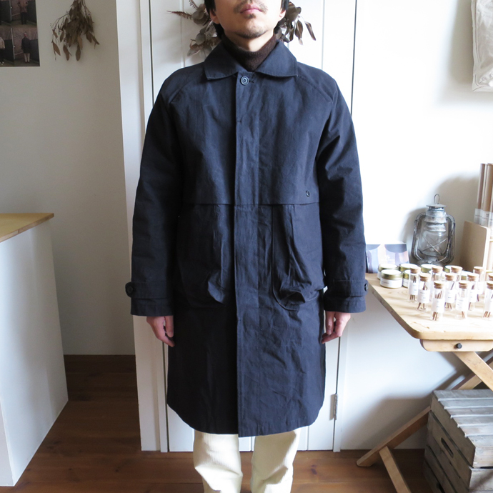 ENDS and MEANS Journalist Coat エンズアンドミーンズ ジャーナリスト コート