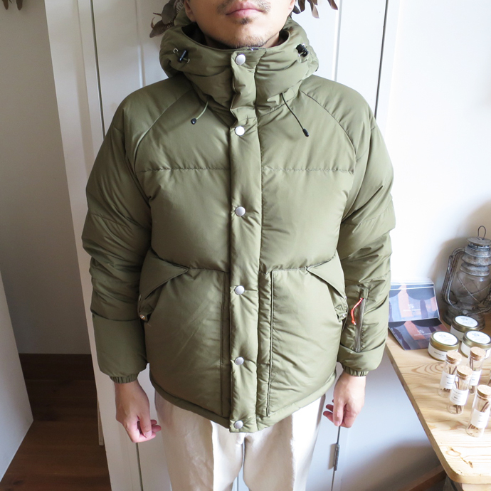 ENDS and MEANS Down Jacket エンズアンドミーンズ ダウン ジャケット
