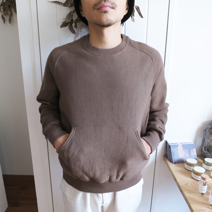 ENDS and MEANS Crew Neck Sweat エンズアンドミーンズ クルーネック スウェット