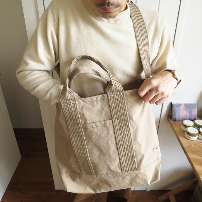 ENDS and MEANS 2way Tote Bag / Nylon エンズアンドミーンズ 2ウェイ トートバッグ / ナイロン