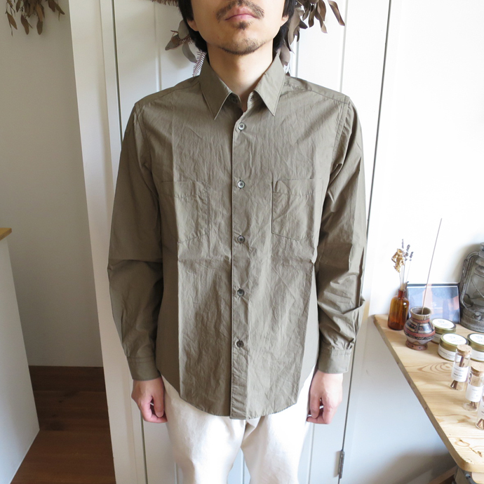 ENDS and MEANS Aldous Shirts エンズアンドミーンズ オルダス シャツ