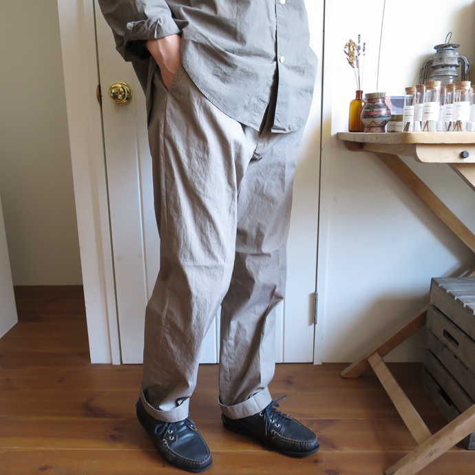 ENDS and MEANS Work Chino Pants / Cotton×Nylon エンズアンドミーンズ ワークパンツ / コットン ナイロン