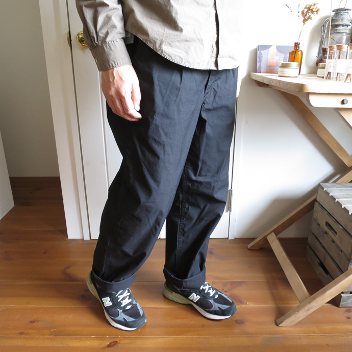 ENDS and MEANS Army Chino Pants / Cotton×Nylon エンズアンドミーンズ アーミー チノ パンツ / コットン ナイロン