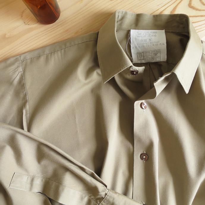 UK Army 1960's British Royal Army Dress Shirts / Used 60年代 イギリス軍 ロイヤルアーミー ドレスシャツ