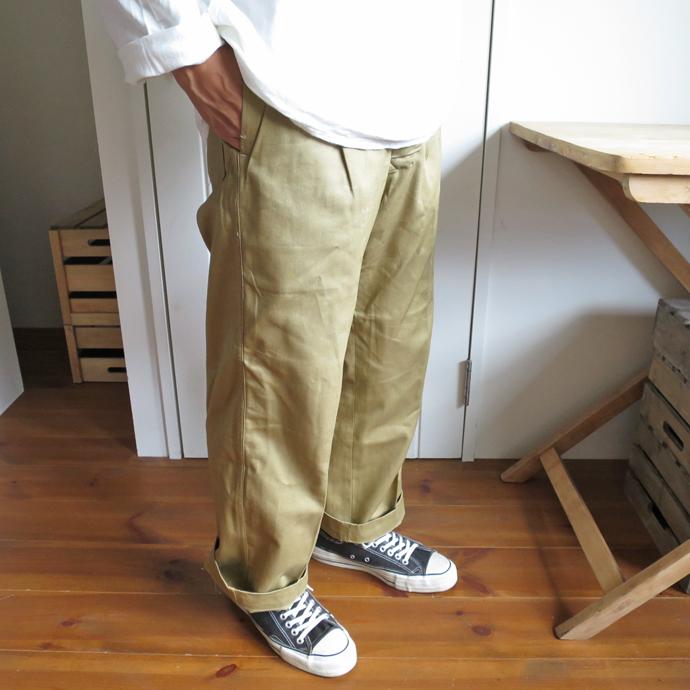 Australian Army 50's Gurkha Chino Trousers / Dead Stock オーストラリア軍  グルカ チノ トラウザー / デッドストック