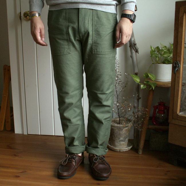 orslow オアスロウ 【Men's】Slim Fit Fatigue Pants スリムフィット ファティーグパンツ  01-5032
