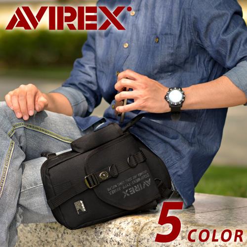 【AVIREX】レッグバッグ