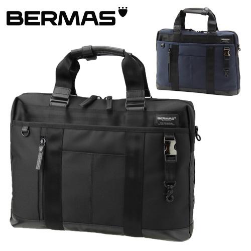 バーマス BERMAS ショルダーバッグ ビジネスバッグ 【BAUERIII/バウアーIII】 2way1層ブリーフケース 60071 メンズ 【送料無料】 週末限定