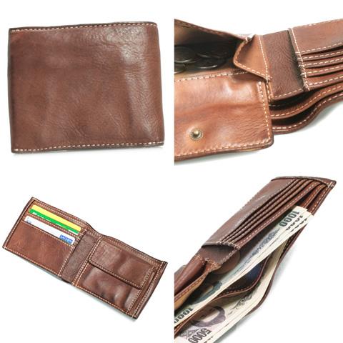 70a437e8f50a5 Dakota black label Dakota black label two bi-fold wallet 623506 mens  folding wallet leather leather